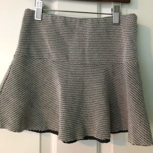 very short zara skirt